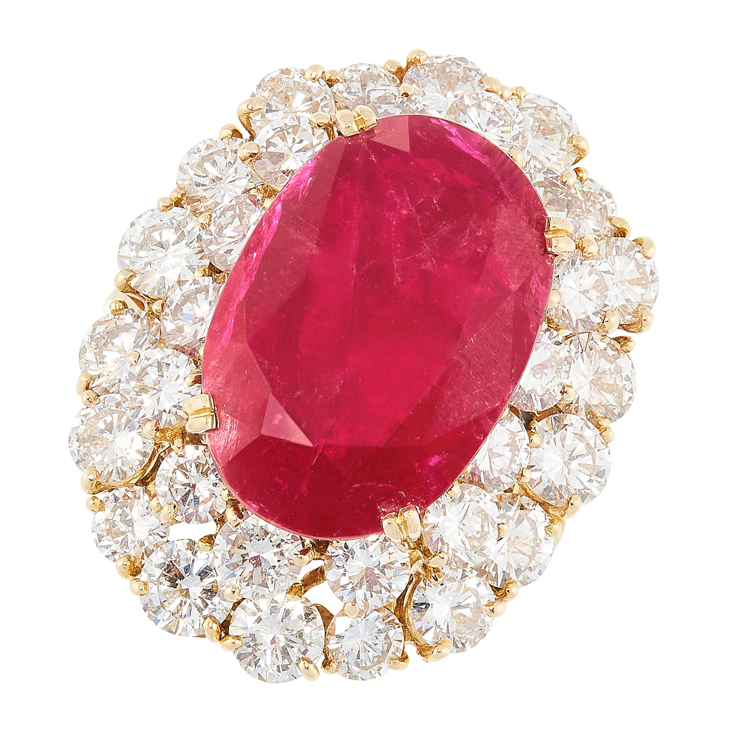 Treasure of the week: Burmese ruby and diamond ring